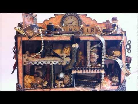 Graphic 45 ~ Le Romantique Vintage Configuration Box