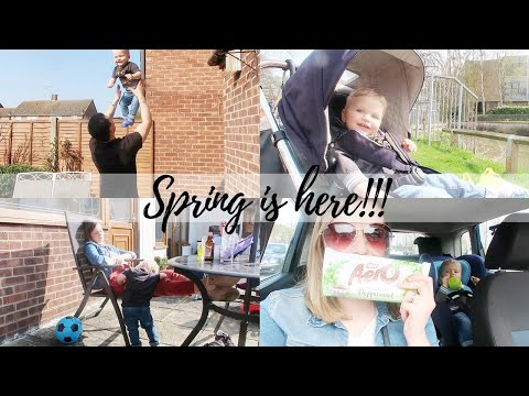 SPRING IS HERE | THE SATURDAY VLOG #43 | CARLY ELLEN