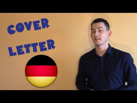 Germany #28 - How to write a cover letter