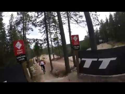 Järvsö Bike Park JBP 2017 Tuff Brud, Barbro, Twist Twist