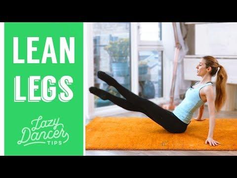 Lean & Beautiful Ballerina Legs   Floor Workout