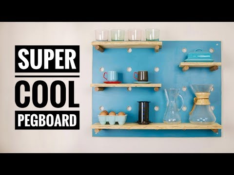 DIY Pegboard (TUTORIAL)