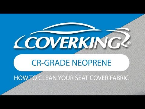 COVERKING® How To Clean CR-Grade Neoprene Fabric