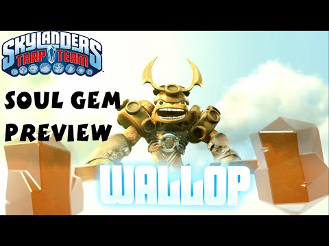 Wallop Soul Gem Preview and Location - Skylanders Trap Team 1080P