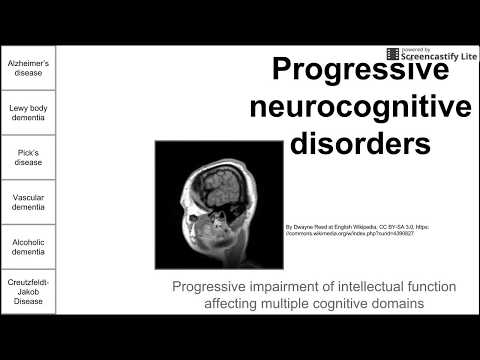 Progressive Neurodegenerative Disorders