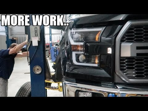 This made things a little complicated.. (More F150 Mods)