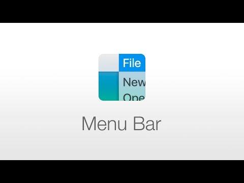 macOS: Menu Bar