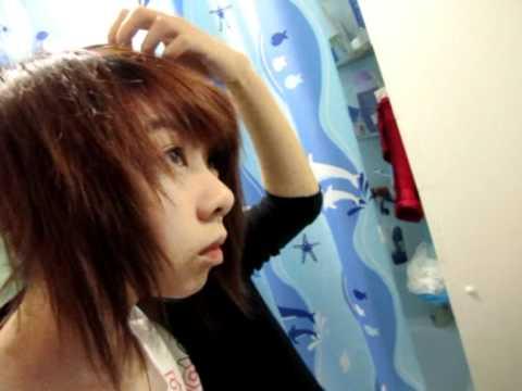 Hair flip cut & layering