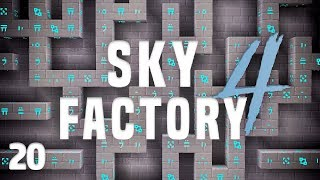 SkyFactory 4 Ep  21 Wireless AE Automation + Truffle Automation