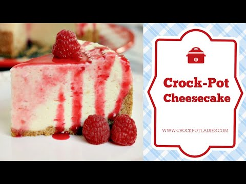 Crock Pot Cheesecake Recipe
