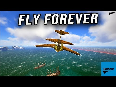 Atlas Glider Suit - How to Fly Forever!