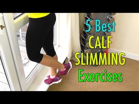 5 Best Calf Slimming Exercises (Not Bulky!)