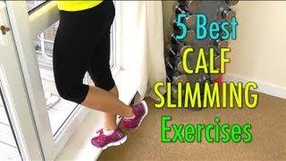 5 Best Calf Slimming Exercises Not Bulky