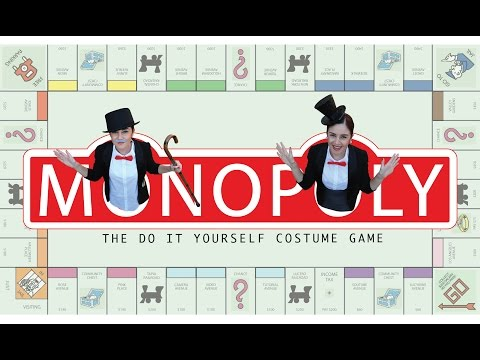 DIY Easy Halloween Costume: Mr. & Mrs. Monopoly || Lucykiins