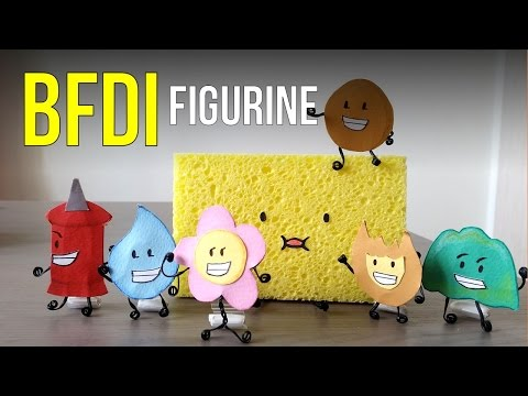 Battle For Dream Island BFDI Toys Figurine