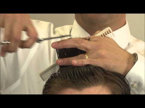 Barbering Techniques - Barber Shear Cutting - Greg Zorian