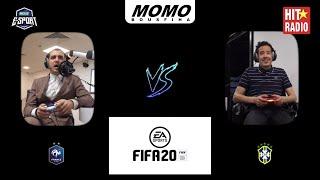 3ich l'game m3a Momo - Brésil Vs France