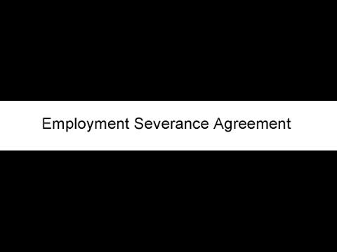 Employment Severance Agreement