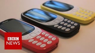 Nokia 3310 mobile phone resurrected at MWC 2017 - BBC News
