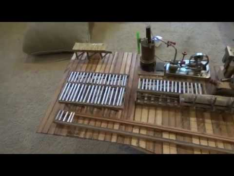 Simple way to make roller conveyors