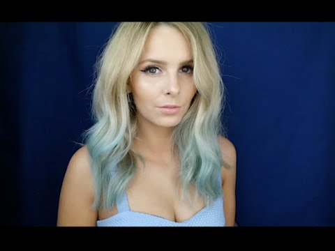 HOW TO COLOUR YOUR HAIR... WITH EYESHADOW | Rachael Brook
