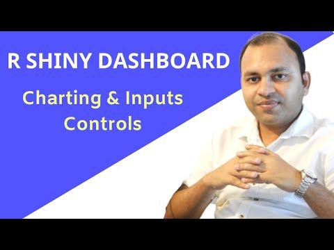 R Shiny Tutorial | R Shiny Dashboard | Creating Charts and Input Controls | R Programming