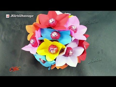 DIY Lollipop Bouquet Tutorial | Gift idea | How to make | JK Arts 924