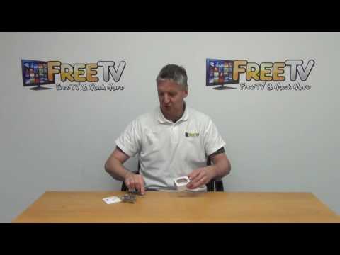 Surface Mounted TV Aerial & Satellite Wall Socket