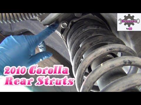 2010 Corolla Rear Struts