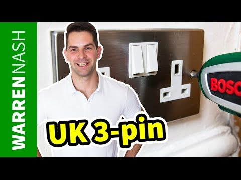 How to Replace a Plug Socket - UK 3-pin - Easy DIY by Warren Nash