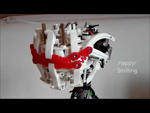 Fully 3D Printed Animatronic Mouth