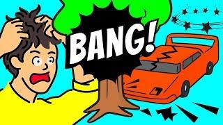 Qué pasa si destrozas un auto en una prueba de manejo
