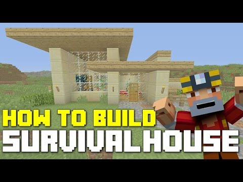 Minecraft Xbox 360/One: How to Build - Survival House! (Simple Starter House)