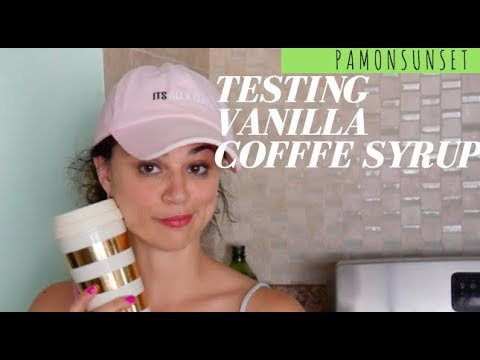 DIY Vanilla Coffee Syrup || Inspired By The DIY Mommy