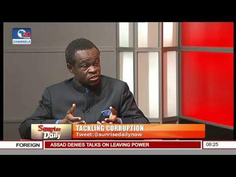 It Is Dangerous To Declare War Against Corruption -- Prof. Lumumba
