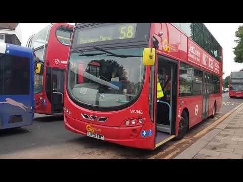 Blind change on Go Ahead London WVN6 (LK59 FDY)