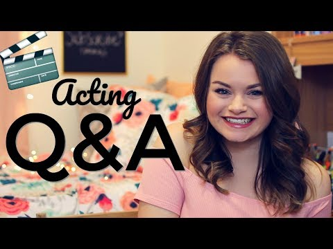 ACTING Q&A! Next Monologue Contest, What I've Been in, Disney Open Calls, etc.