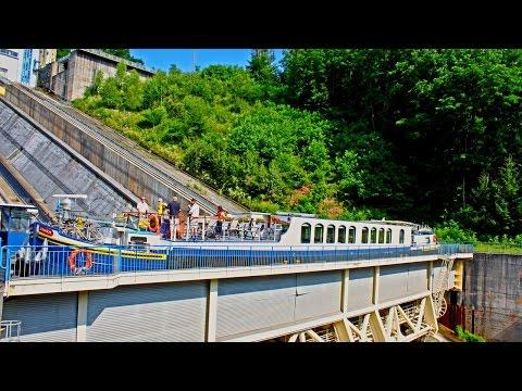 The Arzviller Boat Elevator / Saint-Louis-Arzviller Inclined Plane in France | European Waterways