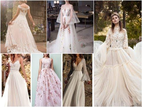 Top-25 Beautiful Bohemian Wedding Dresses - Boho Trends 2018
