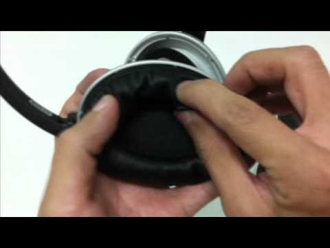 How to replace ear pad cushion for BOSE®  Around Ear AE, Around Ear 2 AE2 headphones