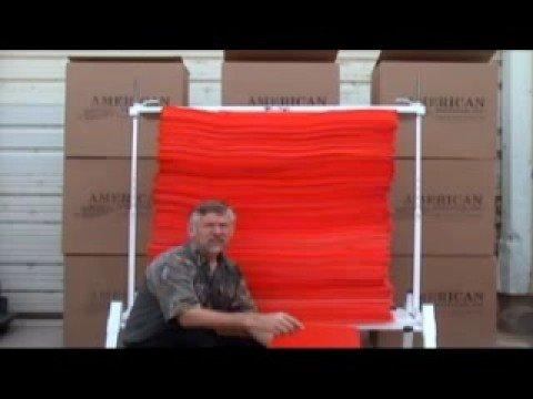 Open Layer Foam Archery Range System