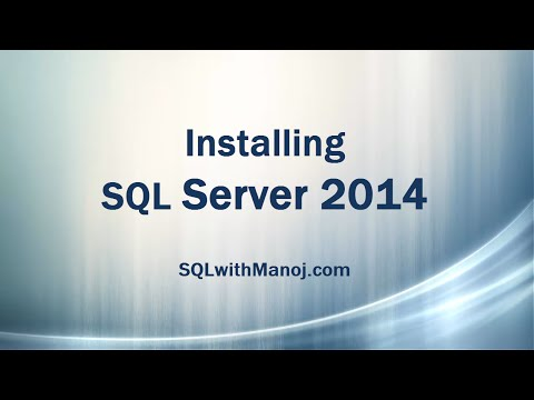 Install SQL Server 2014 (with Default Instance)