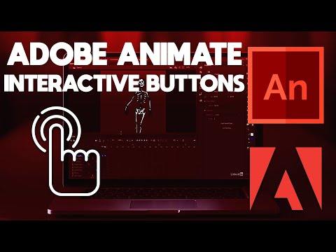 Adobe Animate CC | How to Create Interactive Buttons Using Adobe Animate