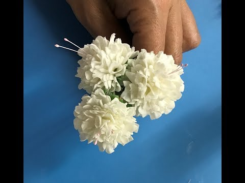 Gumpaste( flower paste) carnations