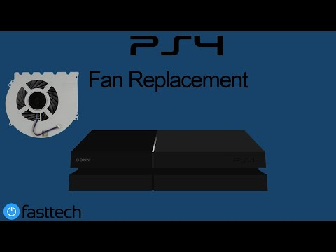 PS4 Fan Replacement - PS4 Too Hot - PS4 Turns off  - PS4 Shutting down (CUH-1001A / CUH-1115A)