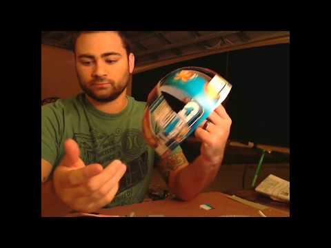White Power Ranger Helmet Tutorial pt1