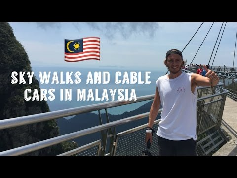BEACH DAYS, CABLE CARS AND EAGLE FEEDING - LANGKAWI, MALAYSIA    VLOG