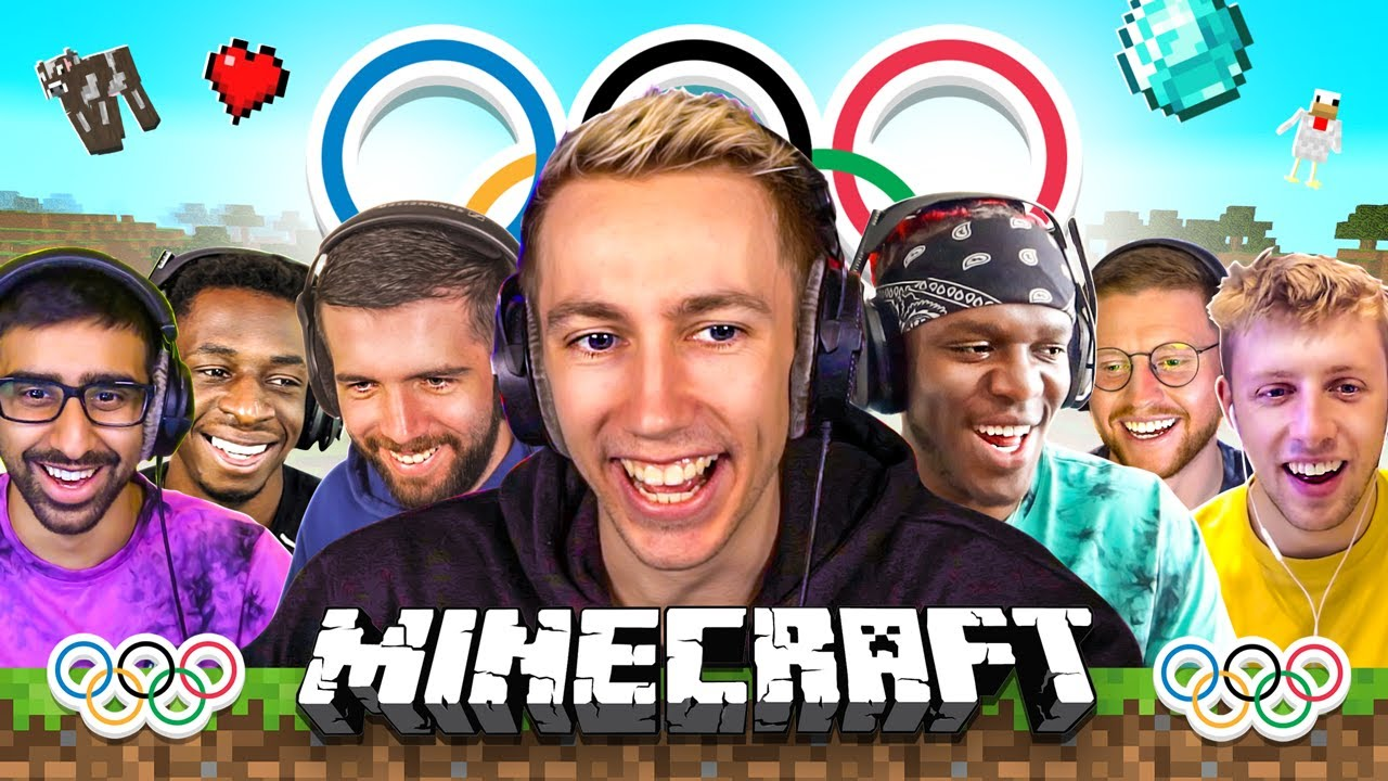 SIDEMEN MINECRAFT MEME OLYMPICS (Sidemen Gaming)