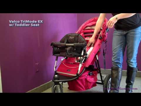 Valco Stroller w/ Toddler Seat