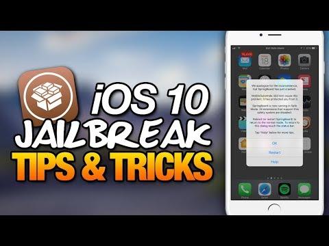iOS 10 JAILBREAK Tips & Tricks: Episode 1 - Safe Mode Can Save Your Jailbreak!